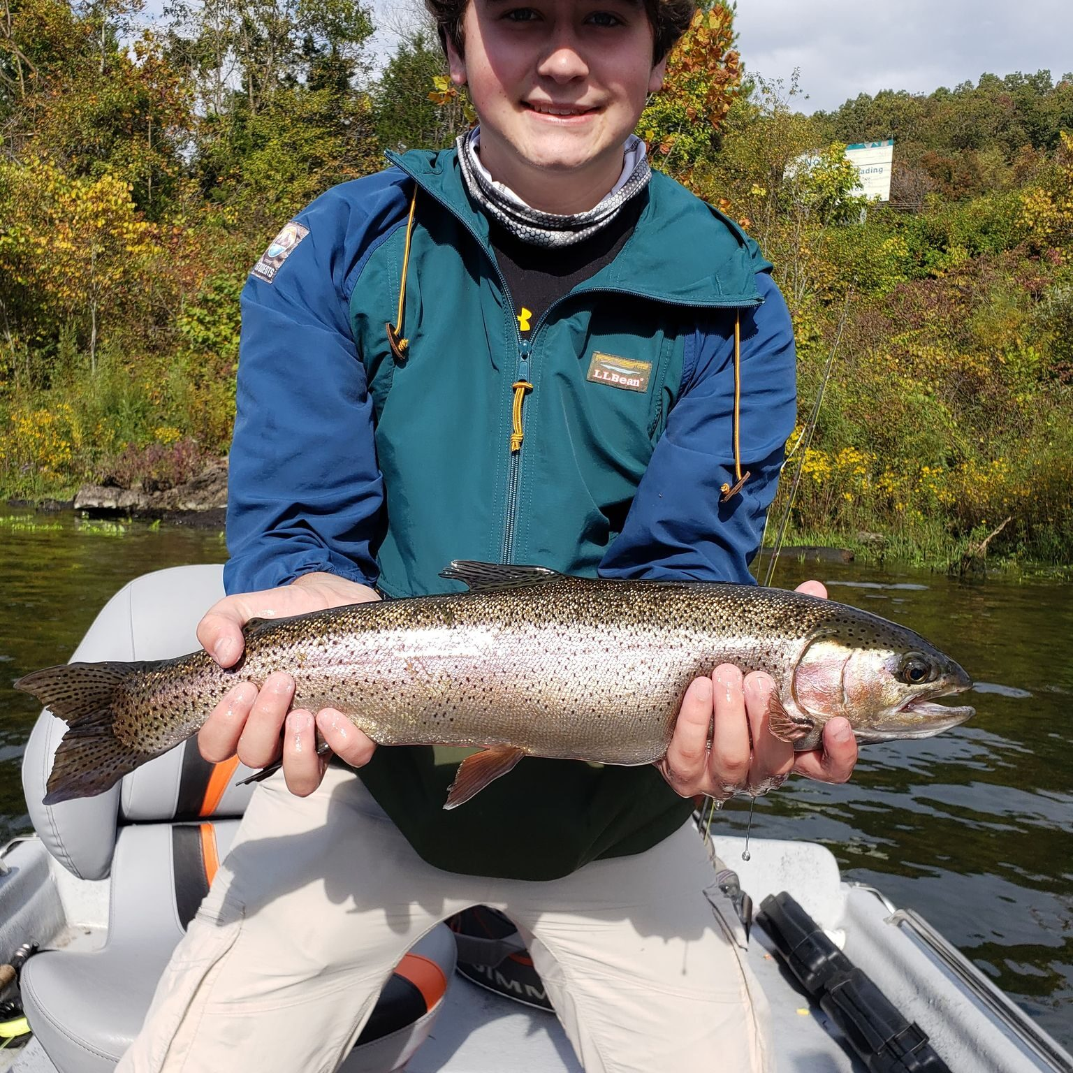 white river rainbow flys and guides